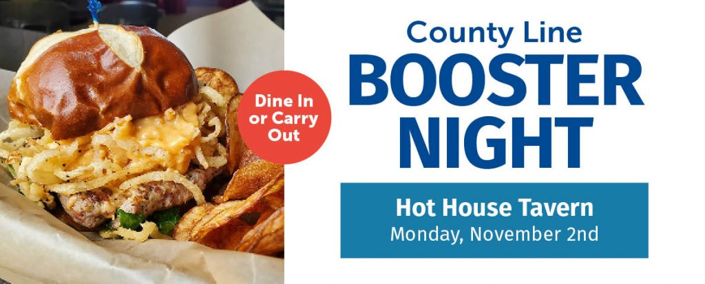 County Line Booster Night @ Hot House Tavern